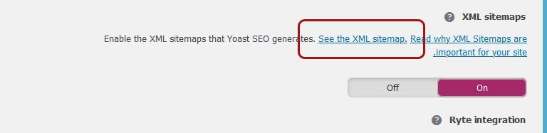 إضافة خريطة الموقع في Google Console Search من خلال الإضافة Yoast SEO